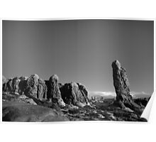 Arches NP XV BW  Poster