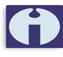 The Impossibles Symbol from Venture Bros. Canvas Print