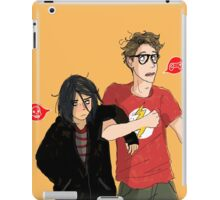 Emo & Geek iPad Case/Skin
