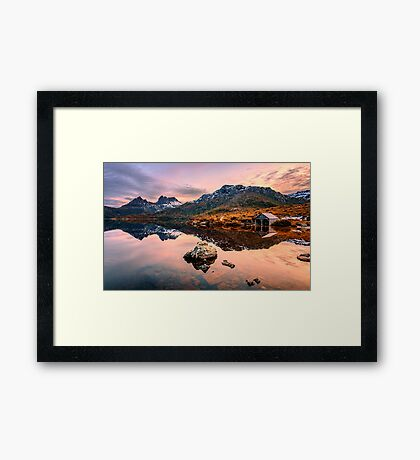 The Boatshed Framed Print
