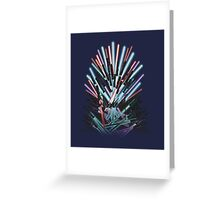 Throne Wars Greeting Card