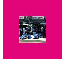 73 LeMans - Vaillante 02 Photographic Print