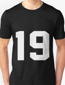 Team Jersey 19 T-shirt / Football, Soccer, Baseball Unisex T-Shirt
