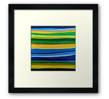 Line Series 7 Framed Print