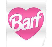 Barf Heart  Poster