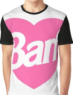 Barf Heart  Graphic T-Shirt