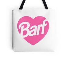 Barf Heart  Tote Bag