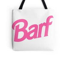 Barf T-Shirt Tote Bag
