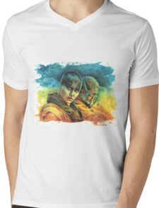 Fury Road 2.0 Mens V-Neck T-Shirt