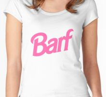 Barf T-Shirt Women's Fitted Scoop T-Shirt