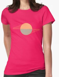 The Sun and the Sea Womens Fitted T-Shirt
