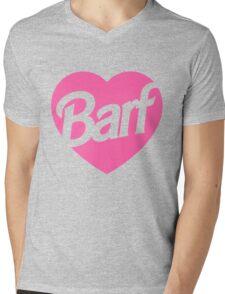 Barf Heart  Mens V-Neck T-Shirt