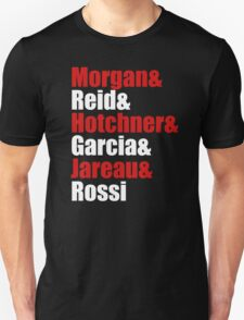 Criminal Minds Cast Unisex T-Shirt