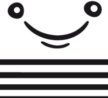 face funny thumbs hand press good best comic cartoon computer laptop notebook pc write screen mobile tablet Sticker