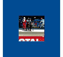 14 LeMans - Porsche Pit 01 Photographic Print