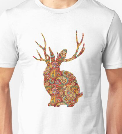 The Paisley Rabbit Unisex T-Shirt