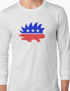 Libertarian Porcupine T-Shirt Long Sleeve T-Shirt
