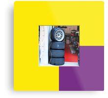 24 LeMans2 - Pit Tyres Metal Print