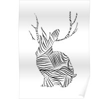 The Stripy Rabbit Poster