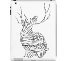 The Stripy Rabbit iPad Case/Skin