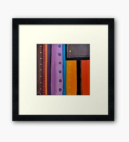Line Series 11 Framed Print