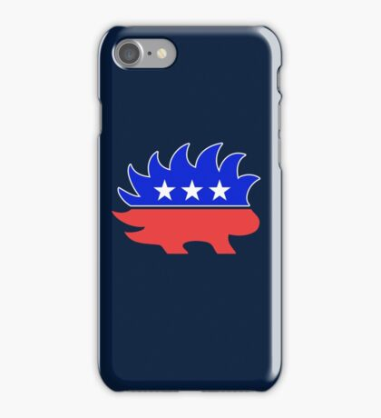 Libertarian Porcupine  iPhone Case/Skin