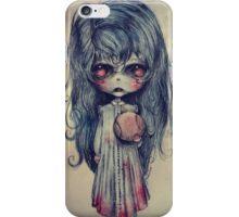 Il fantasma di Azzurrina iPhone Case/Skin