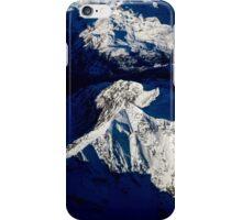Aerial Winter Peak iPhone Case/Skin