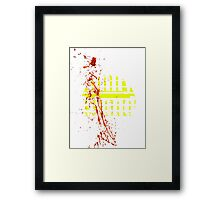 JAWS - Amity Island Framed Print