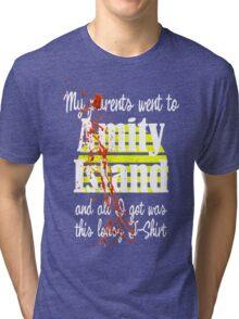 JAWS - Amity Island Tri-blend T-Shirt