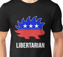 Libertarian Porcupine Party Unisex T-Shirt