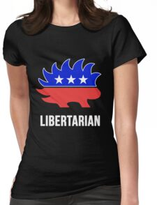 Libertarian Porcupine Party Womens Fitted T-Shirt