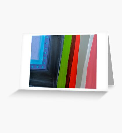 Line Series 12 Greeting Card
