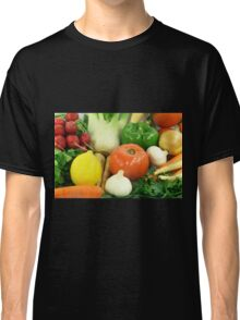 Vegetables, Fruits, Ingradients and Spices  Classic T-Shirt