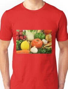 Vegetables, Fruits, Ingradients and Spices  Unisex T-Shirt