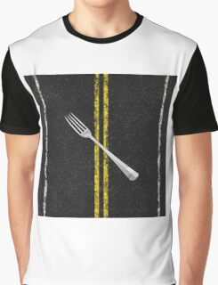 Fork In Road Graphic T-Shirt