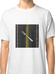 Fork In Road Classic T-Shirt