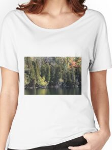 Light, Forest, Autumn and Lake. Women's Relaxed Fit T-Shirt
