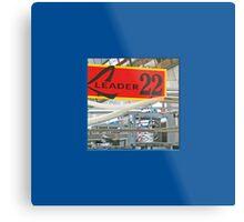 15 LeMans2 - Pit Leader 22 Metal Print