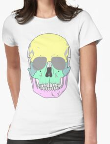 FUNKY SKULL (POP ART STYLE) Womens Fitted T-Shirt