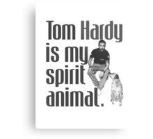 Tom Hardy is my spirit animal. Metal Print