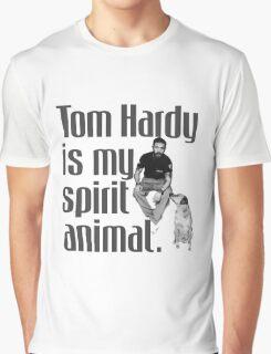 Tom Hardy is my spirit animal. Graphic T-Shirt