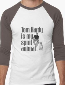 Tom Hardy is my spirit animal. Men's Baseball ¾ T-Shirt