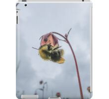 A Bee and a Flower iPad Case/Skin