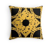 PUZZLE BOX - SIDE B Throw Pillow