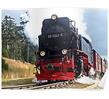 Steam train Poster