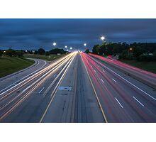 Rush Hour  Photographic Print