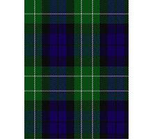 00225 Menteith District Tartan  Photographic Print