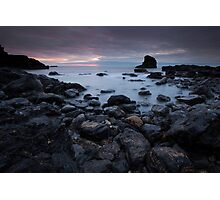 muchalls beach dawn Photographic Print