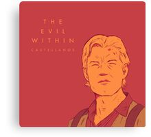 Evil Within Canvas Print